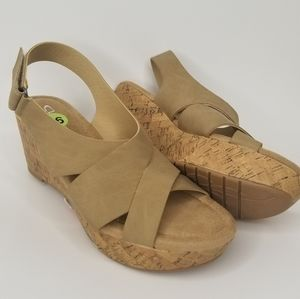 New CL Chinese Laundry WEDGES MEMORY FOAM